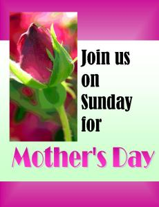 Mothers Day Invitatio